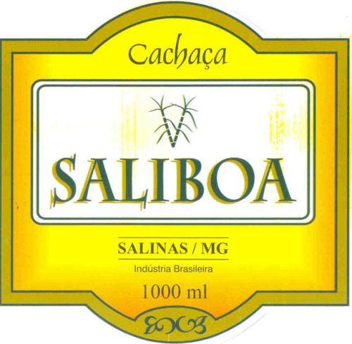 Cachaça Saliboa.