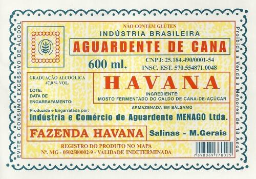 Cachaça Havana.