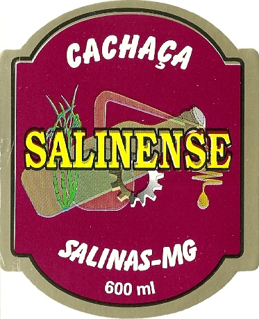 Cachaça Salinense.