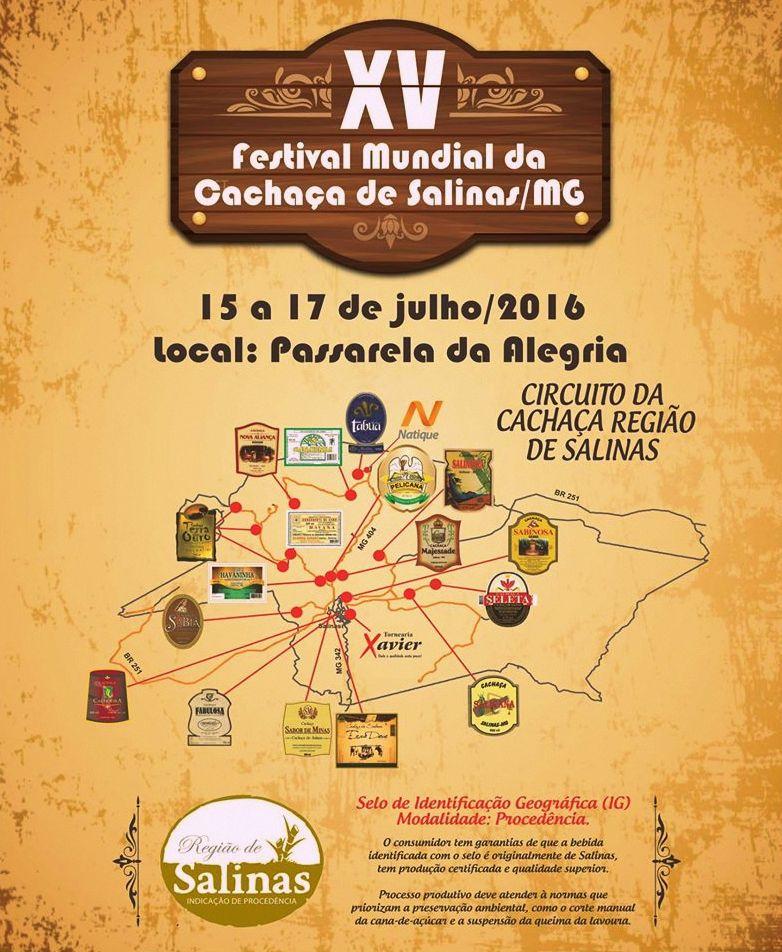 XV Festival da Cachaça de Salinas