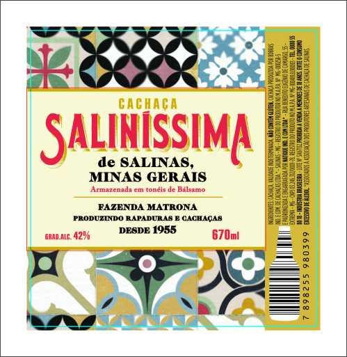 Rótulo Saliníssima